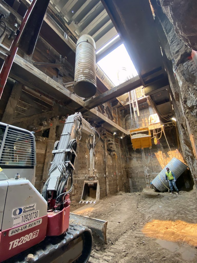 Courthouse Commons Tunnel Shaft